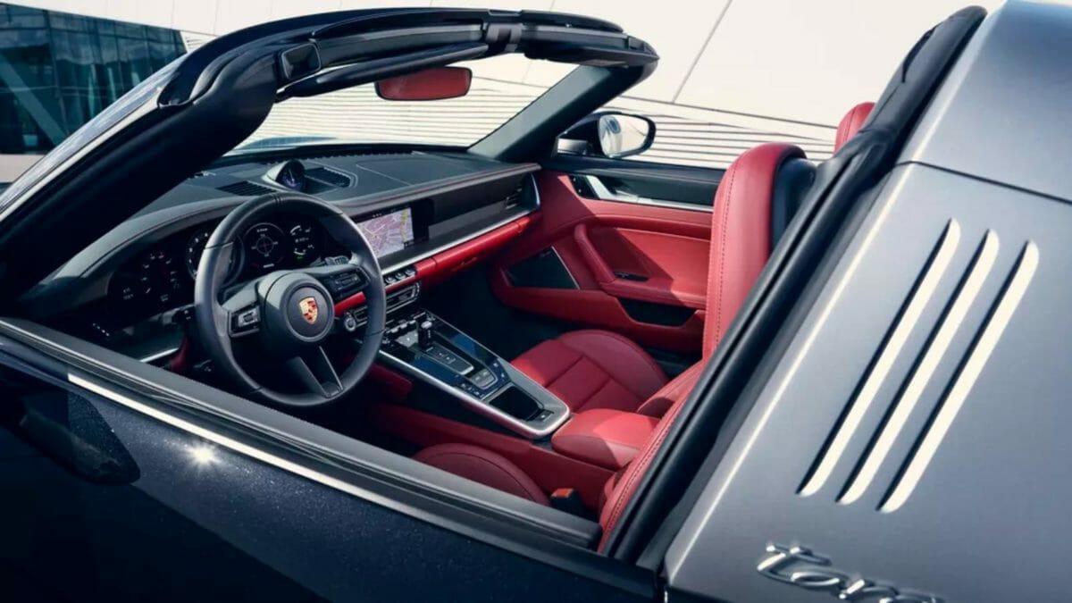 2021 Porsche Targa