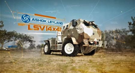 Ashok Leyland 4x4 LSV