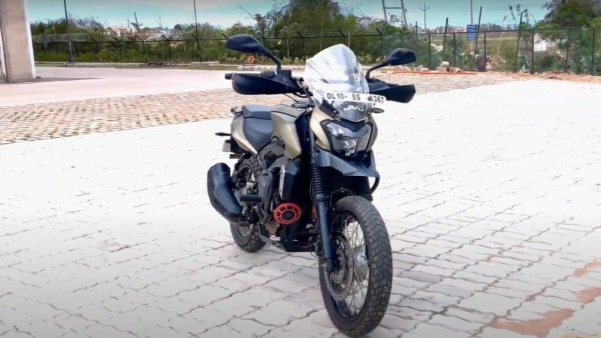 Bajaj DOminar Modified 1