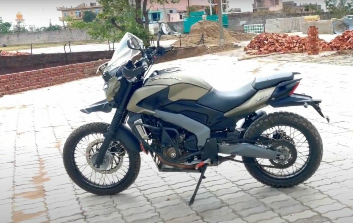 Bajaj Dominar Modified 2