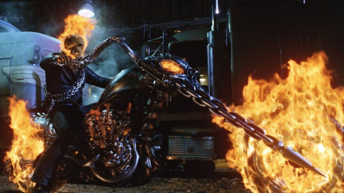 Ghost Rider chopped