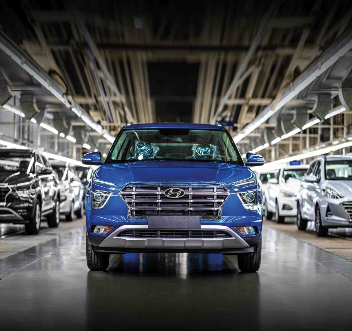 Hyundai Motor India Production Restart