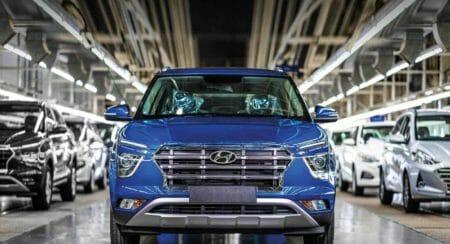 Hyundai Motor India Production Restart