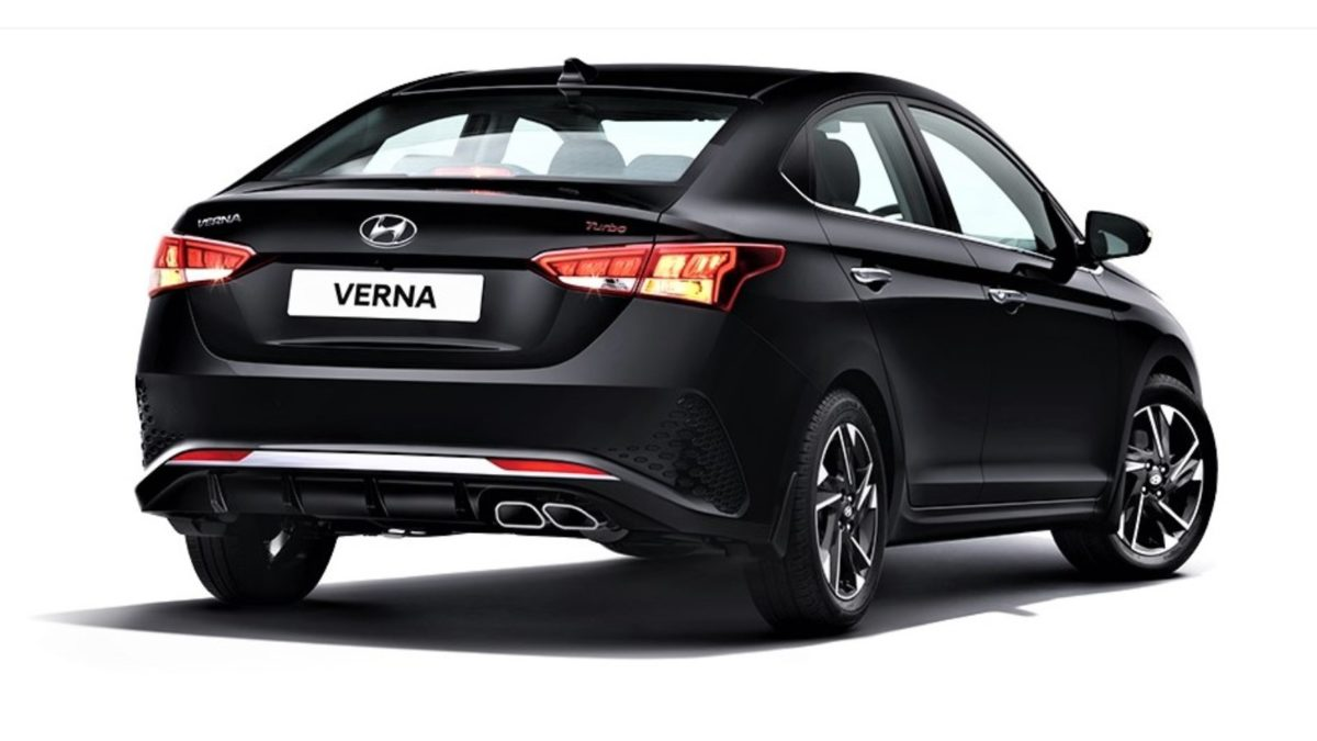 Hyundai Verna Turbo Rear
