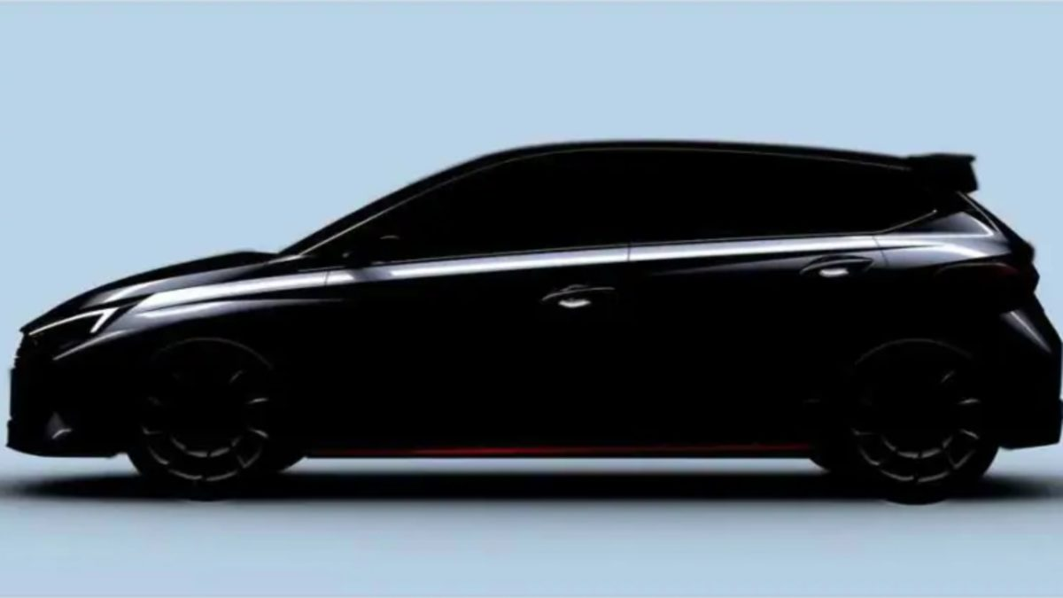 Hyundai i20 N Teased