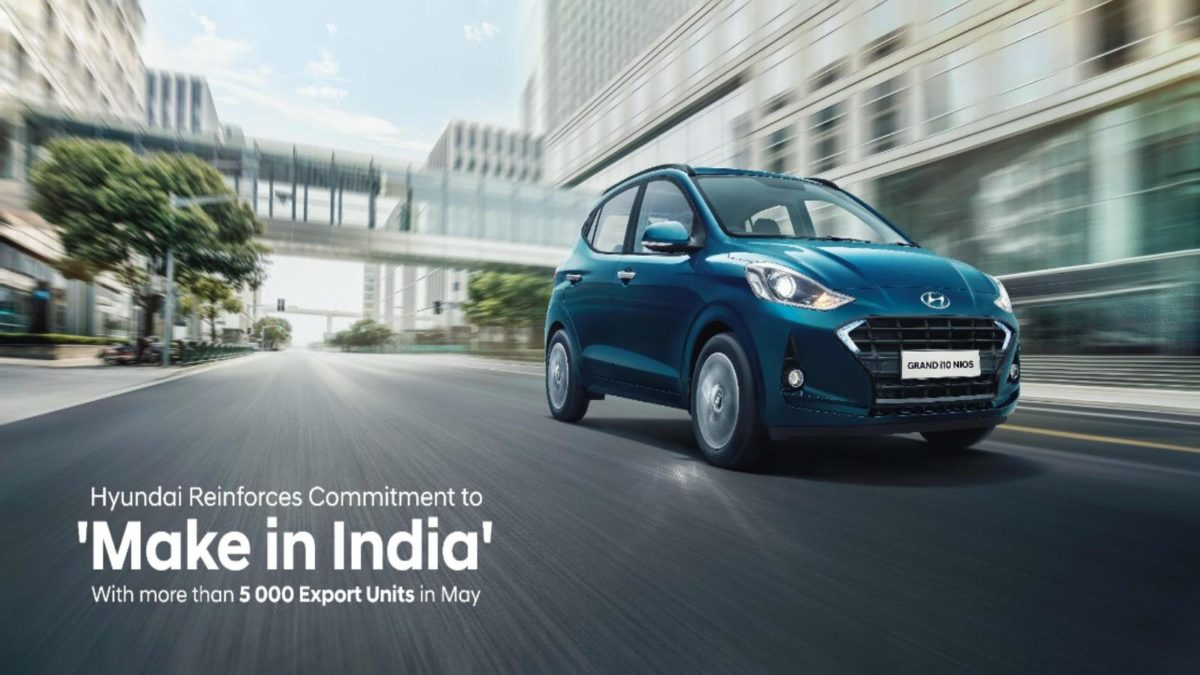 Hyundai make in India