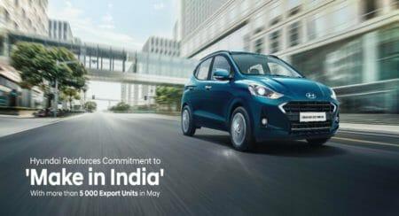 Hyundai make in India