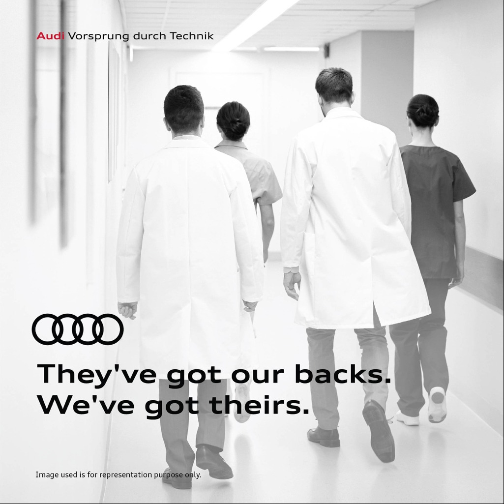 Image_Audi India salutes COVID 19 Warriors