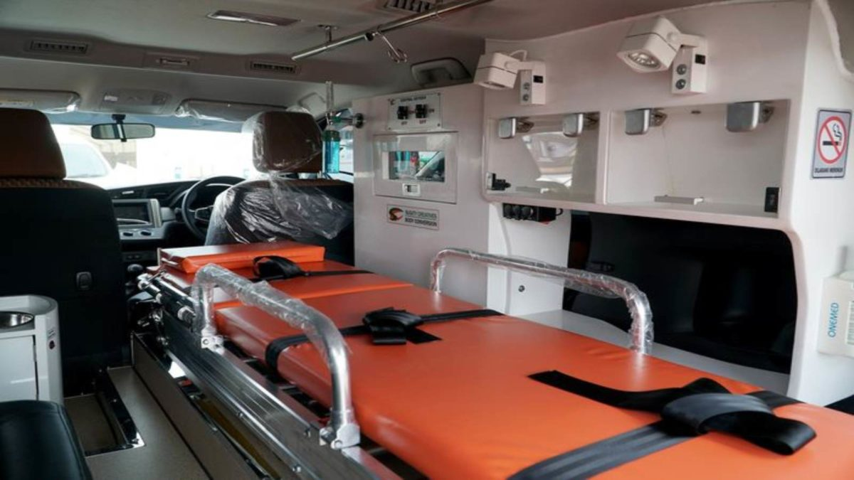 Innova Ambulance inside