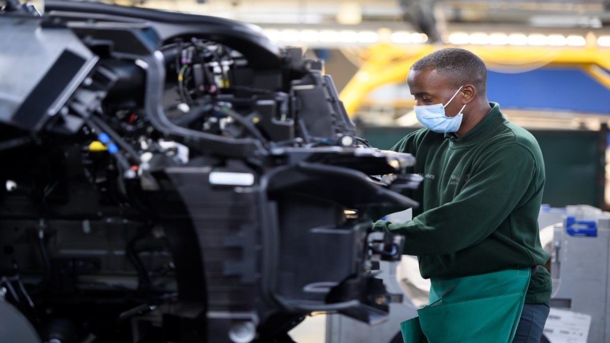 JLR production resumes