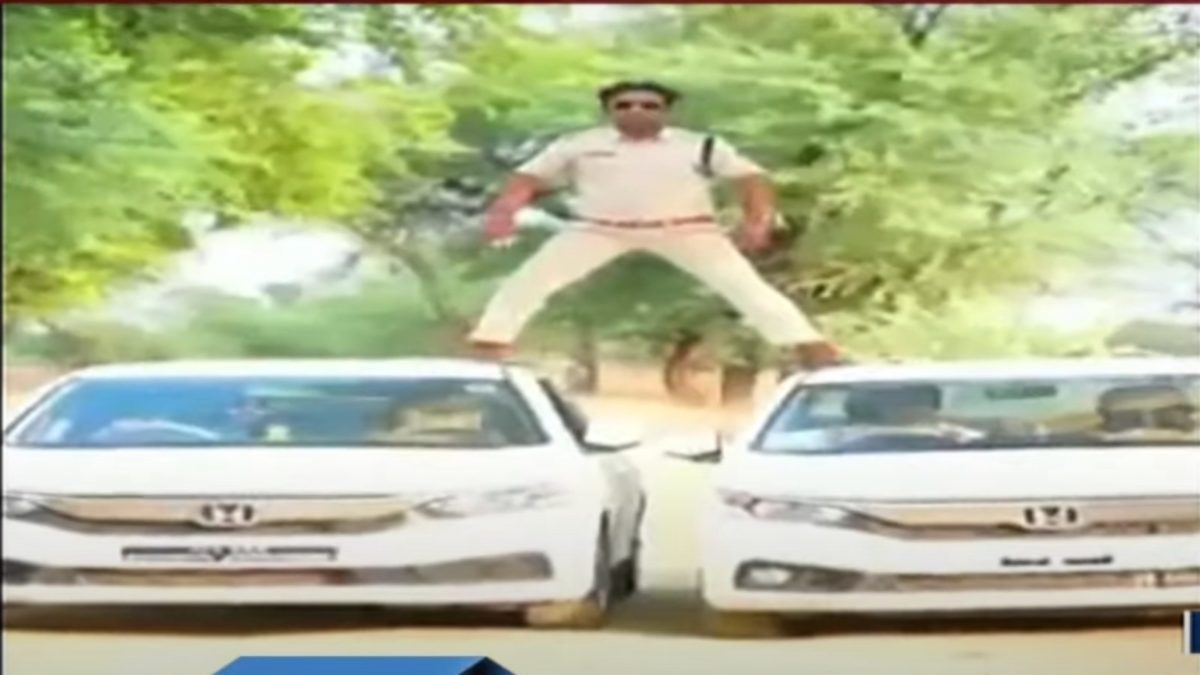 MAdhya Pradesh Cop FIned