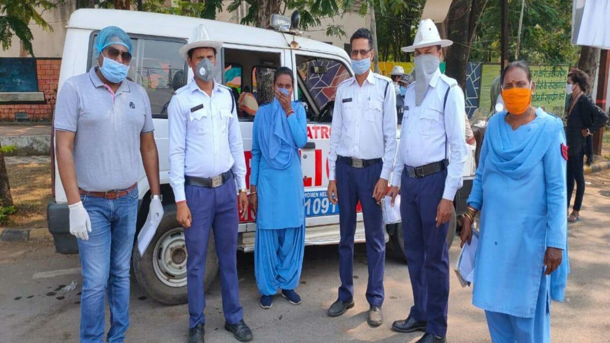 MG Motor India Sanitisation drive