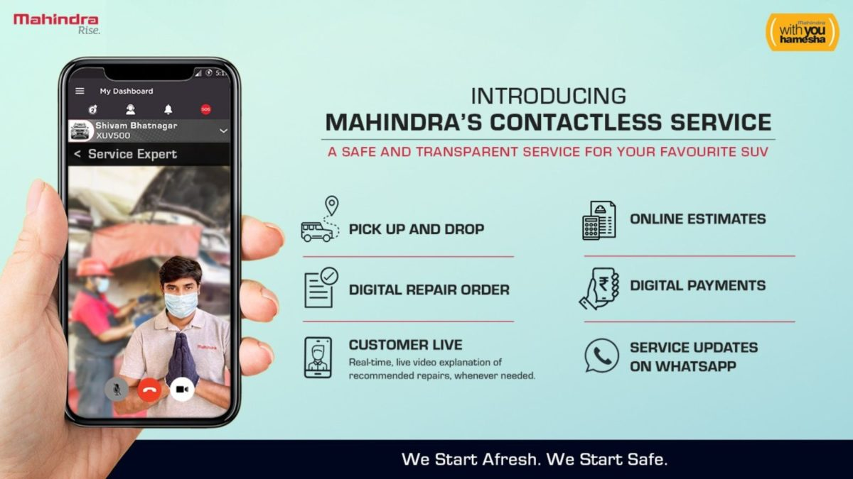 Mahindra Contactless