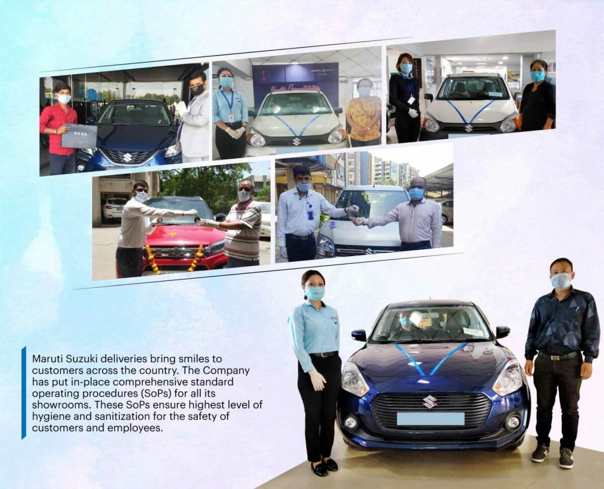 Maruti Suzuki Car Delivery Post Lockdown