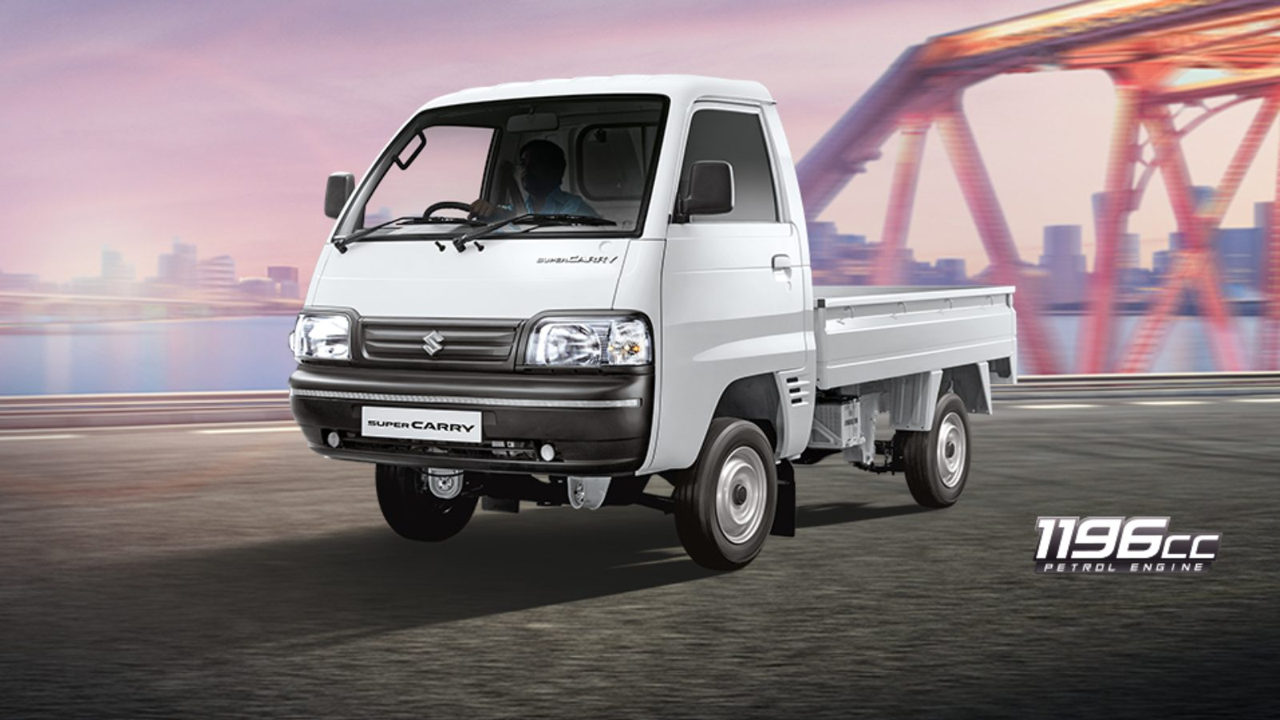 Maruti Suzuki Super Carry Is India S First Bs6 Compliant Duel Fuel Lcv Motoroids