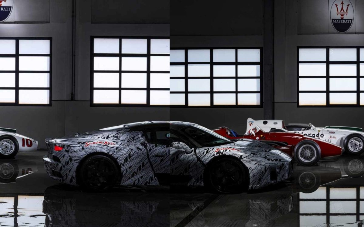 Maserati MC20 stitch