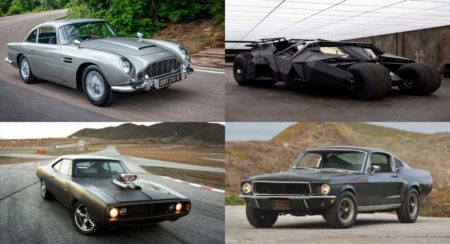 Most iconic movie cars