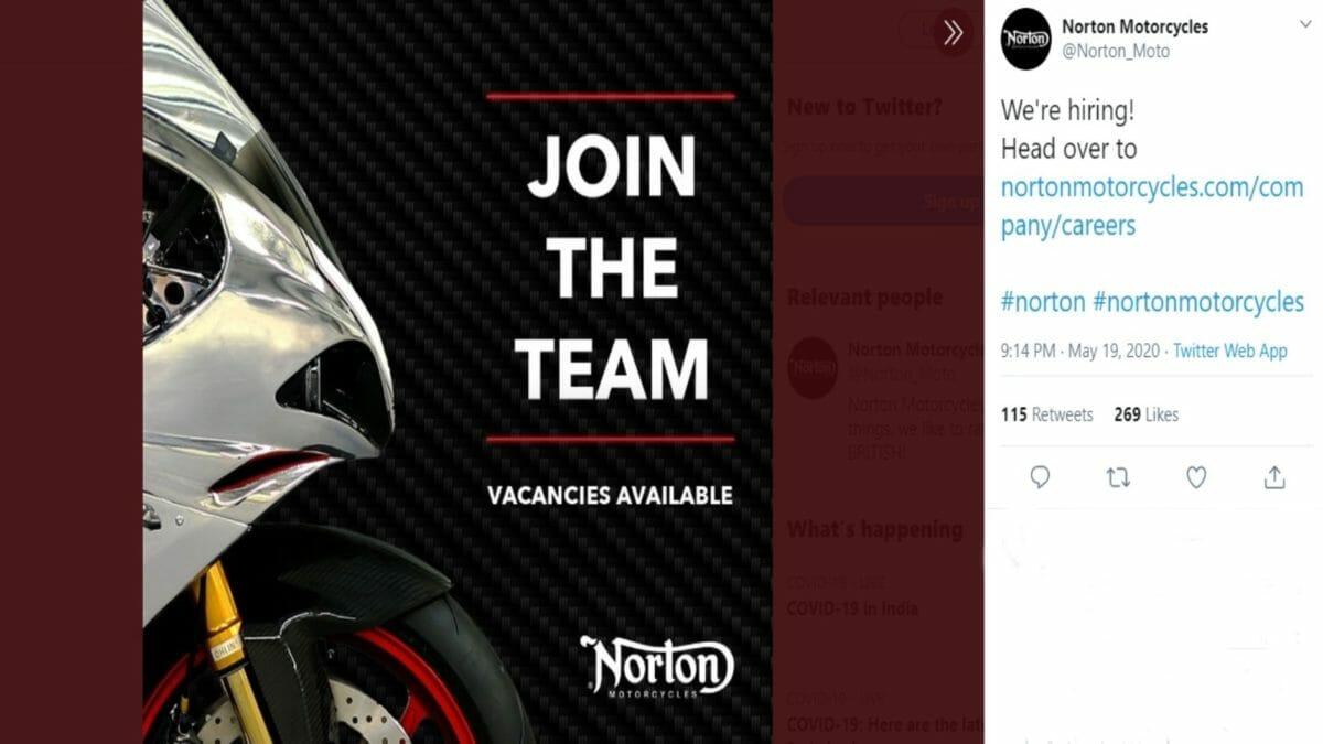 Norton hiring