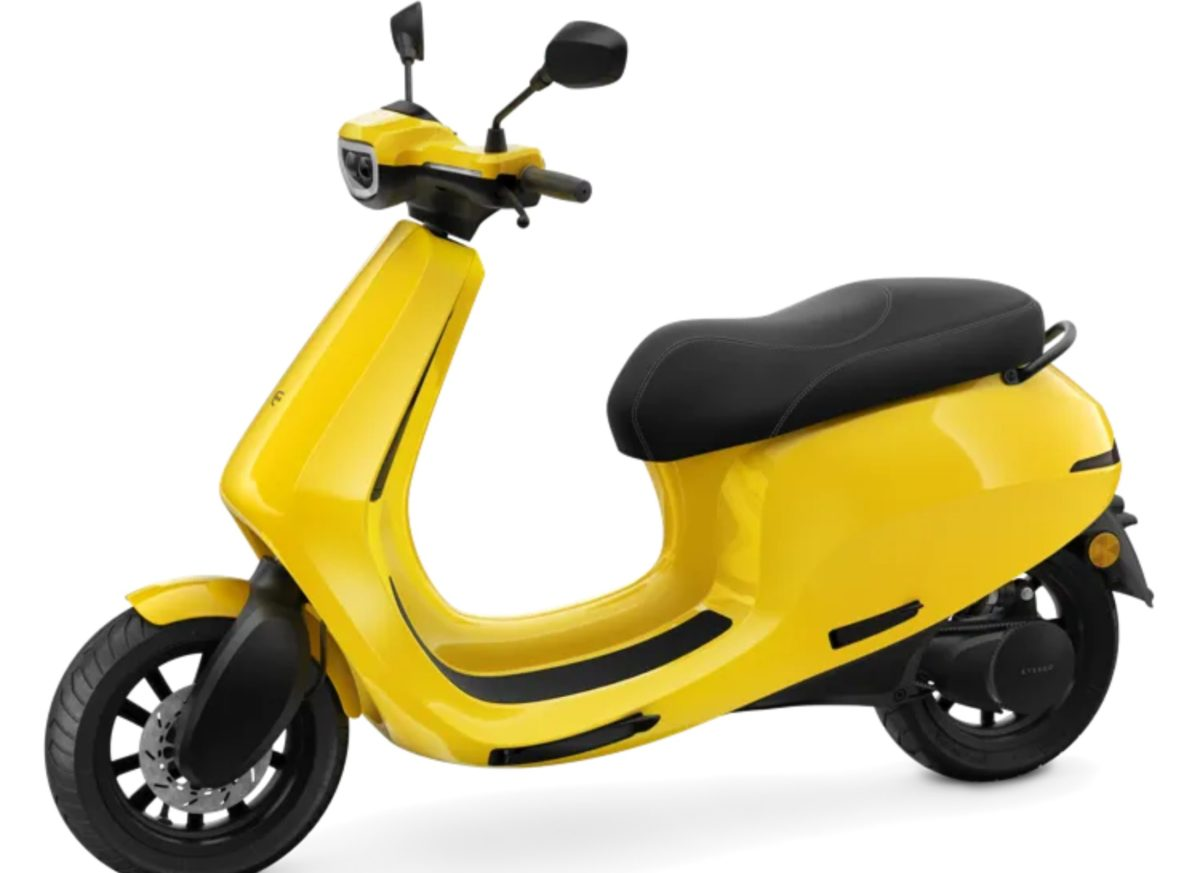 Ola Electric Scooter Front Left