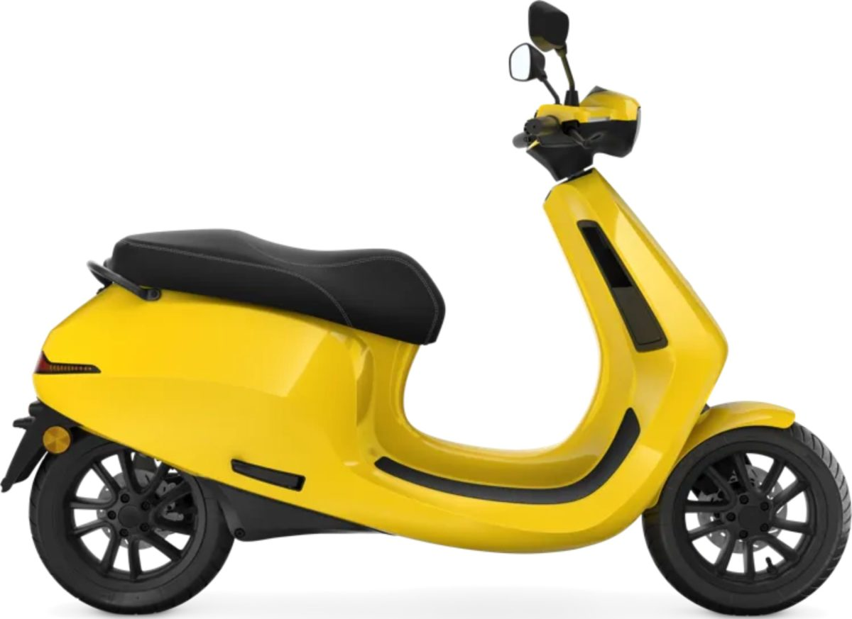 Ola Electric Scooter side profile