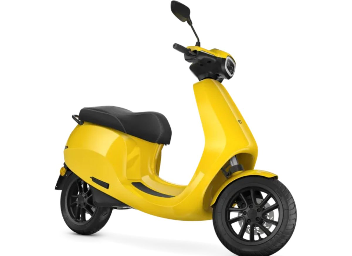 Ola Electric scooter front right