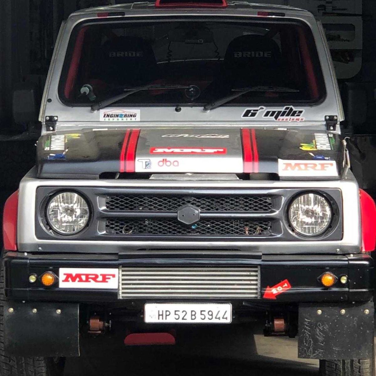 Rally spec Maruti Gypsy (2)