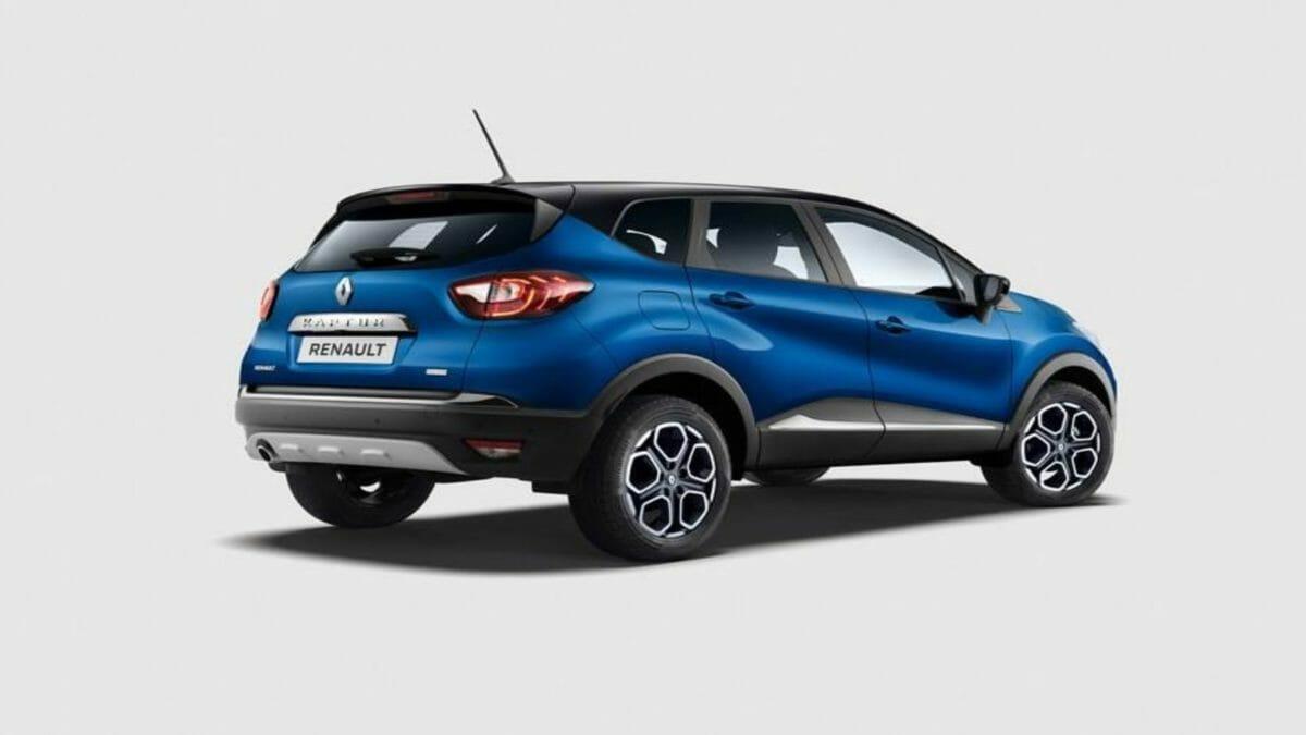 Renault Kaptur exterior back quarter