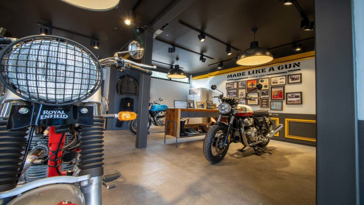Royal Enfield Movable Showroom Thailand 1