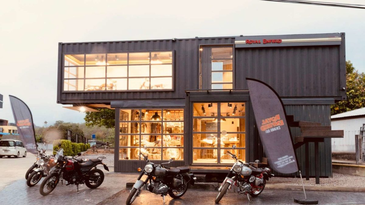Royal Enfield Movable Showroom Thailand