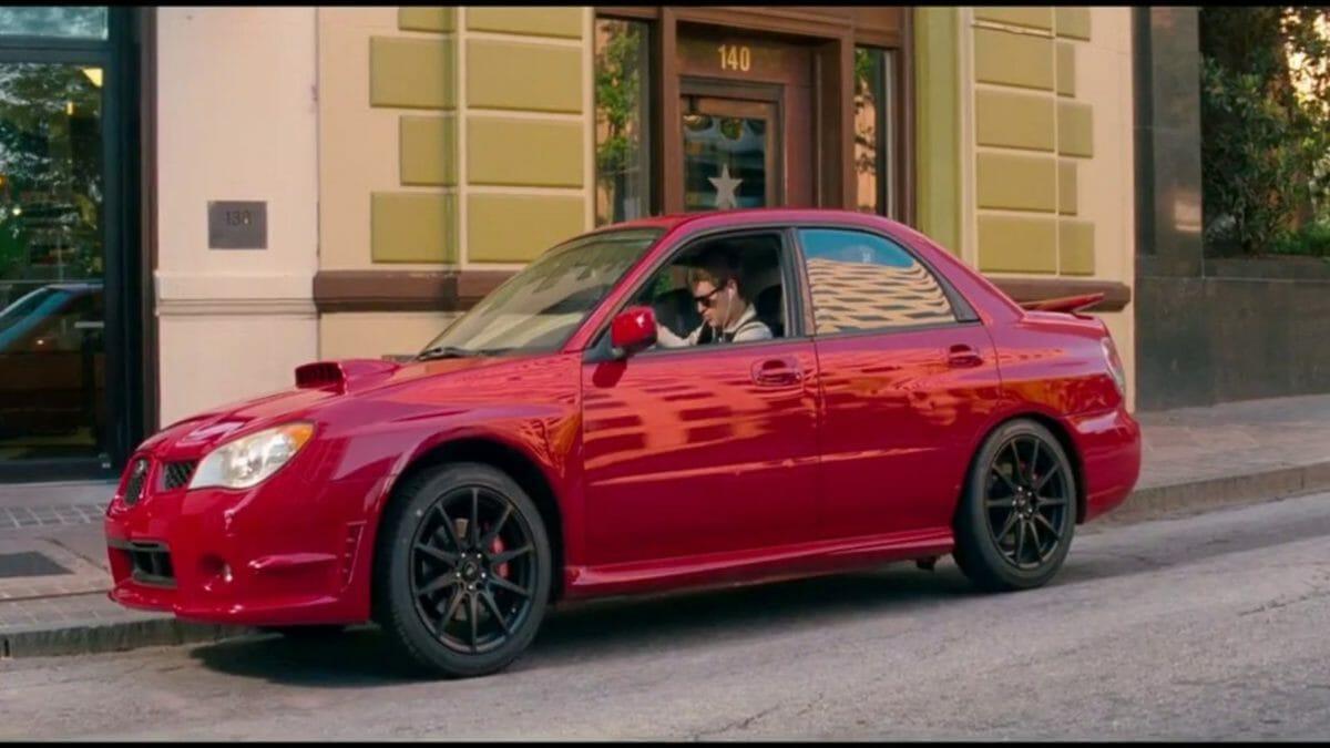 Subaru Impreza baby driver