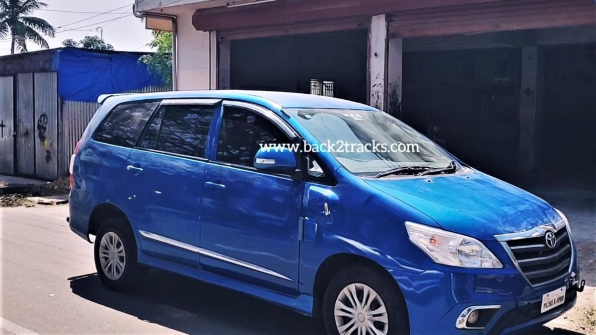 Toyota Innova with scissor doors