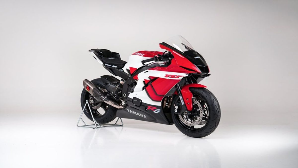 Yamaha R6 20th Anniversary edition 1