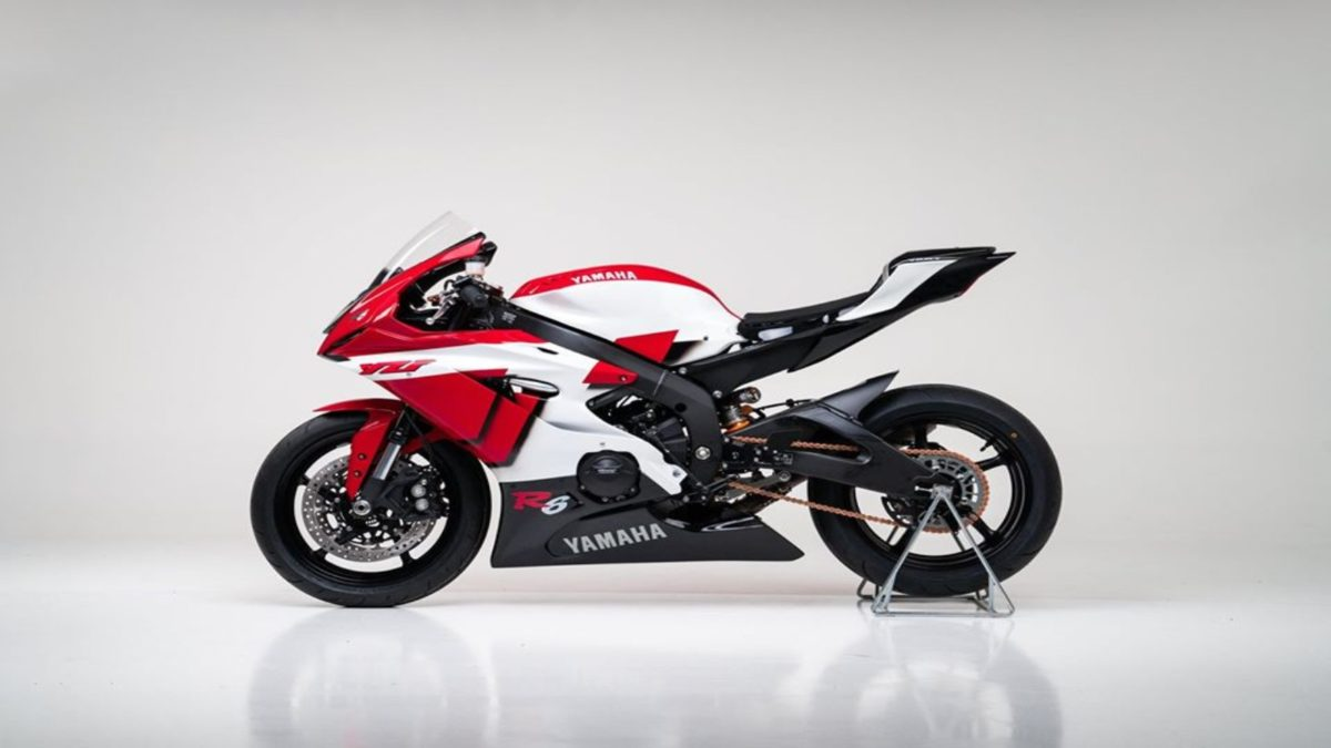 Yamaha R6 20th Anniversary edition