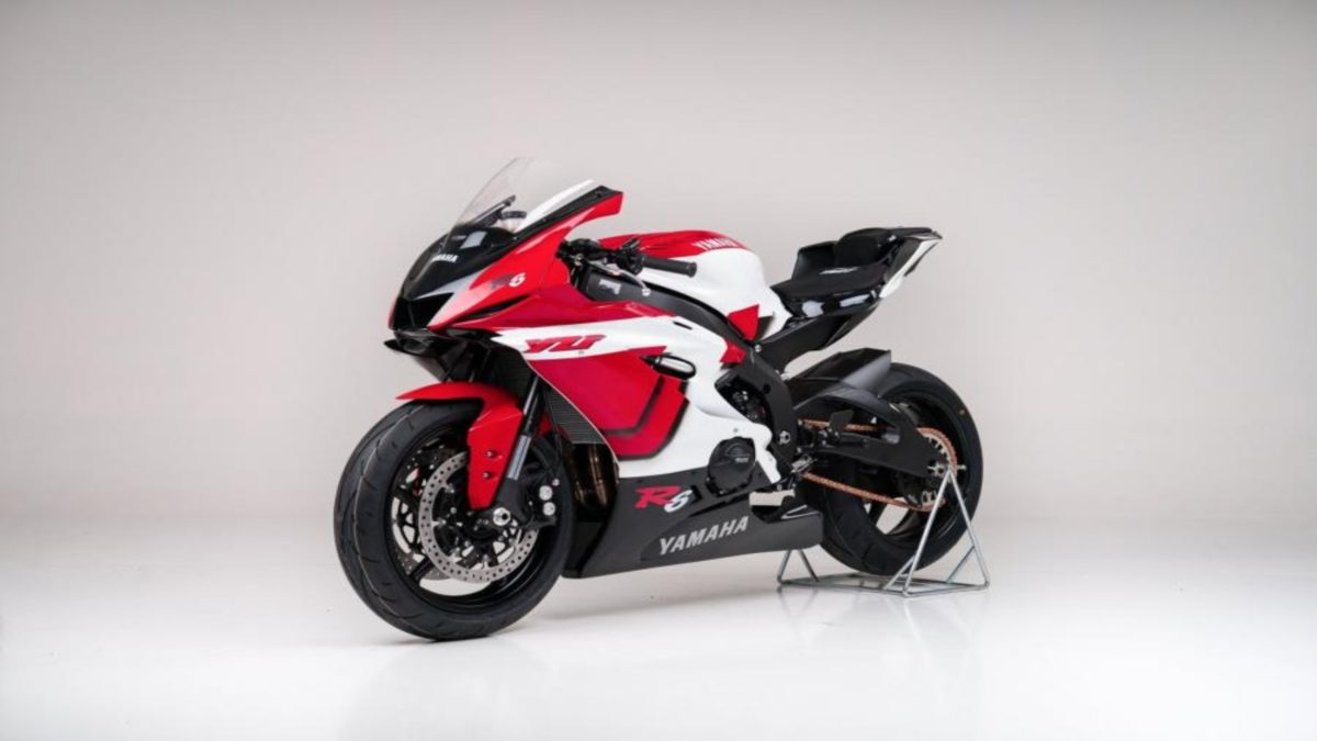 Yamaha R6 20th Anniversary edition 3