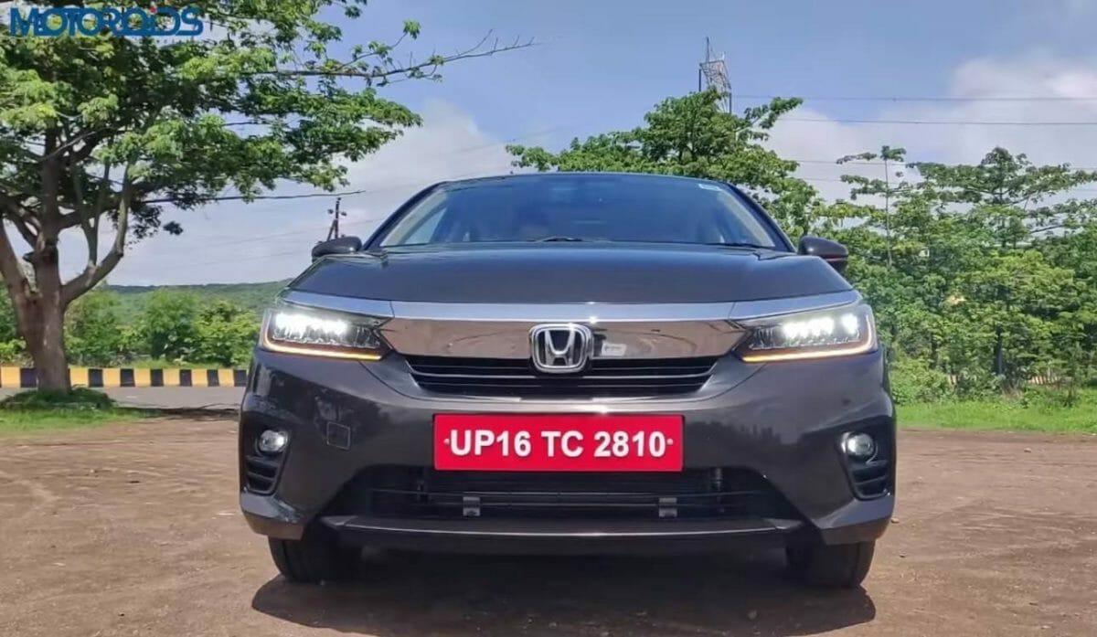 2020 Honda City Front