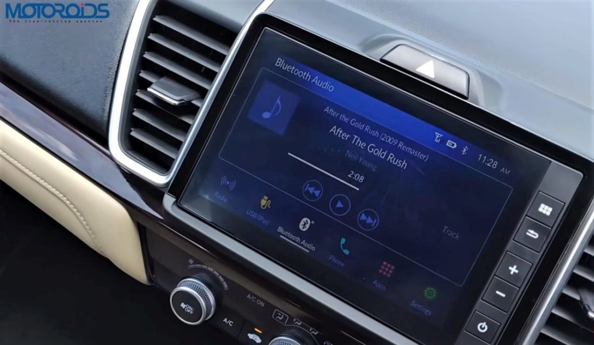 2020 Honda City audio system