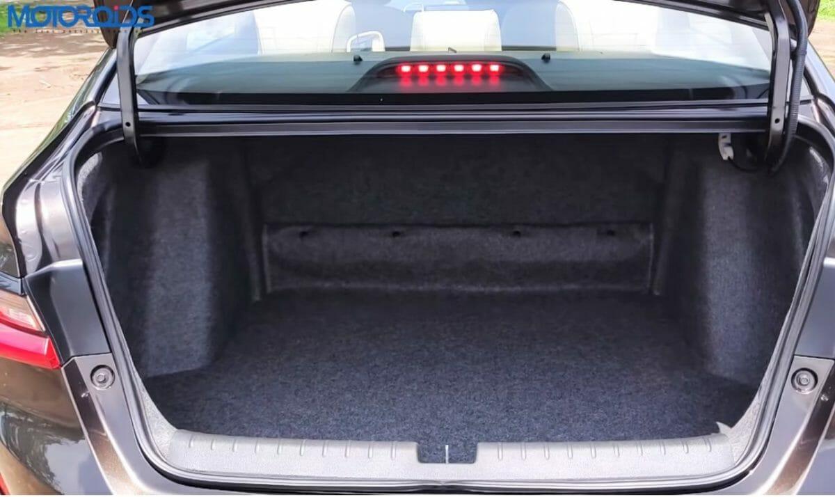 2020 Honda City boot space