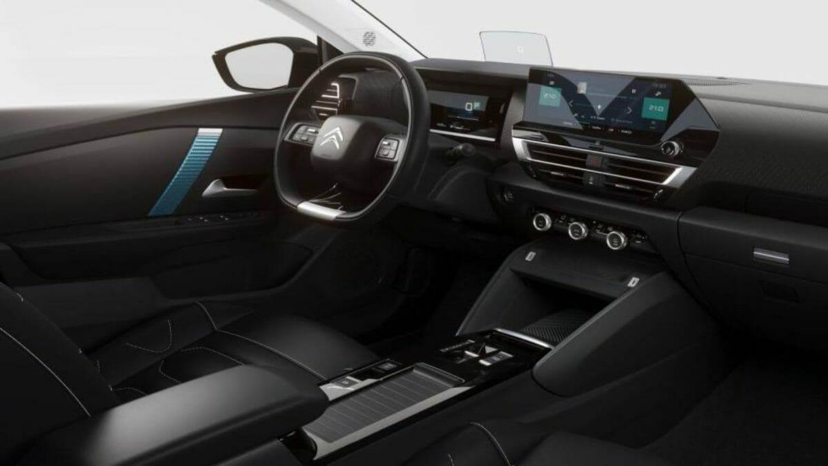 2021 Citroen C4 interior