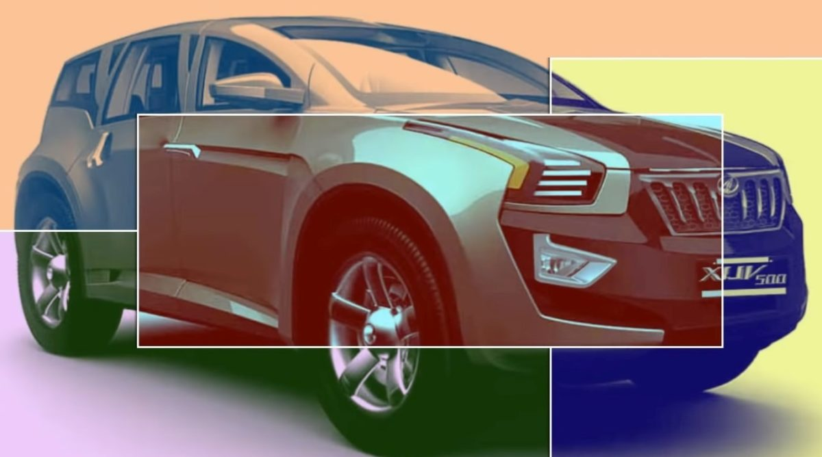 2021 Mahindra XUV500 render