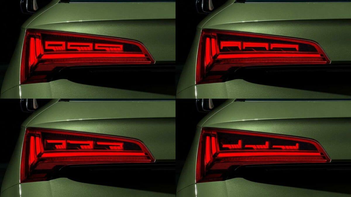 2021 audi q5 rear taillight