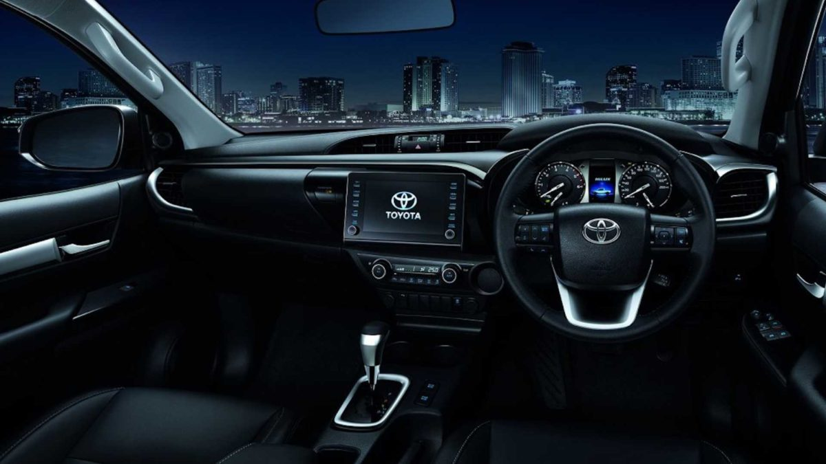 2021 toyota hilux launched in thailand interior