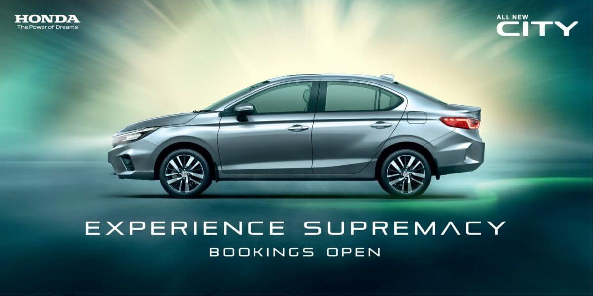 5th Generation Honda City Bookings Open (1)