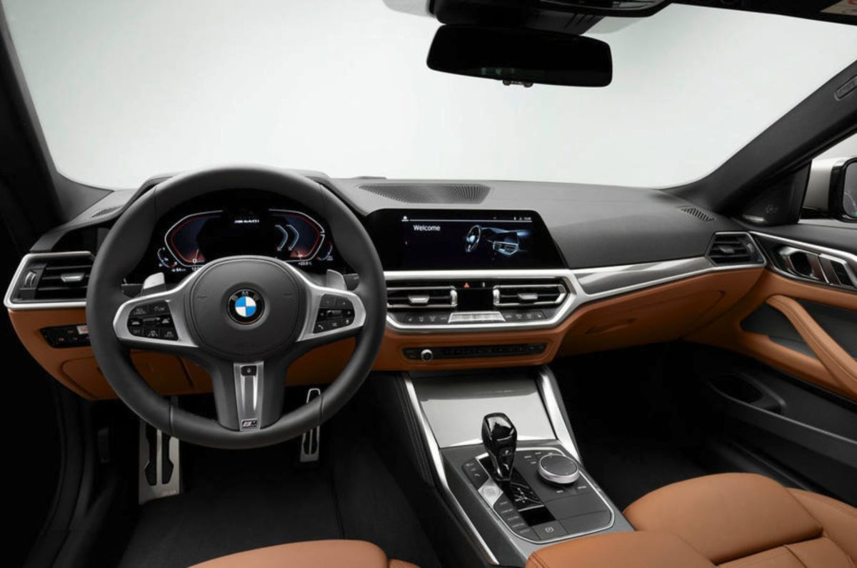 BMW 4 series coupe cabin (1)