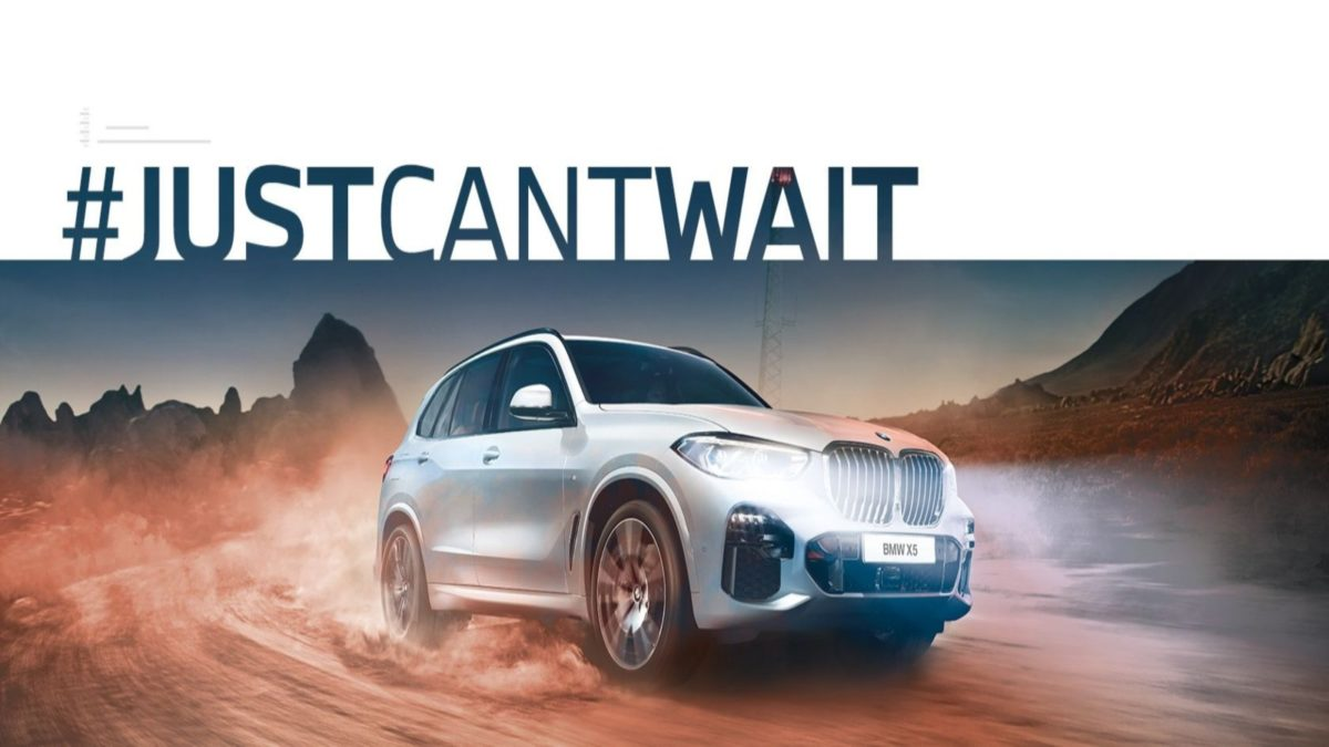 BMW JustcantWait Campaign