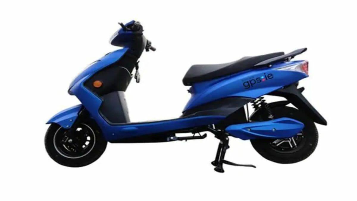 BattRE Gpsie blue e scooter