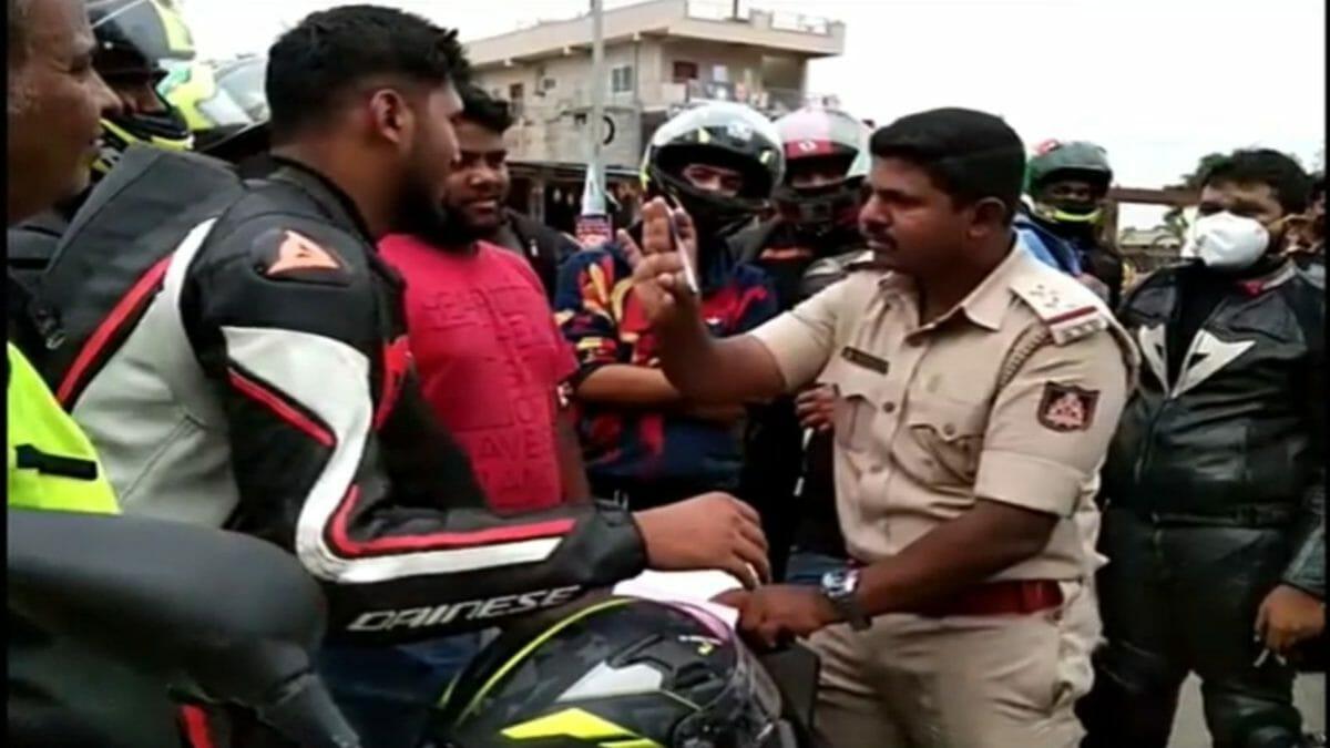 Benaluru Superbikers Fined