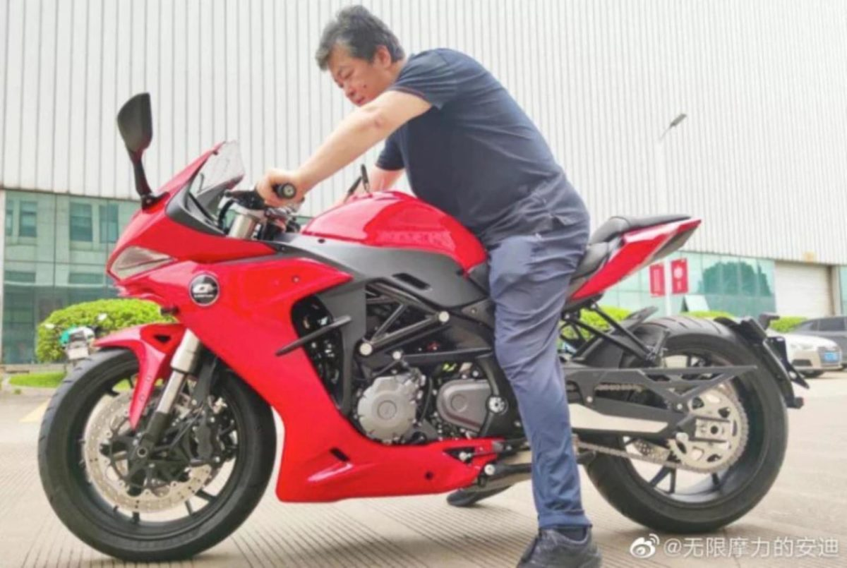 Benelli 600RR Spied Again 1
