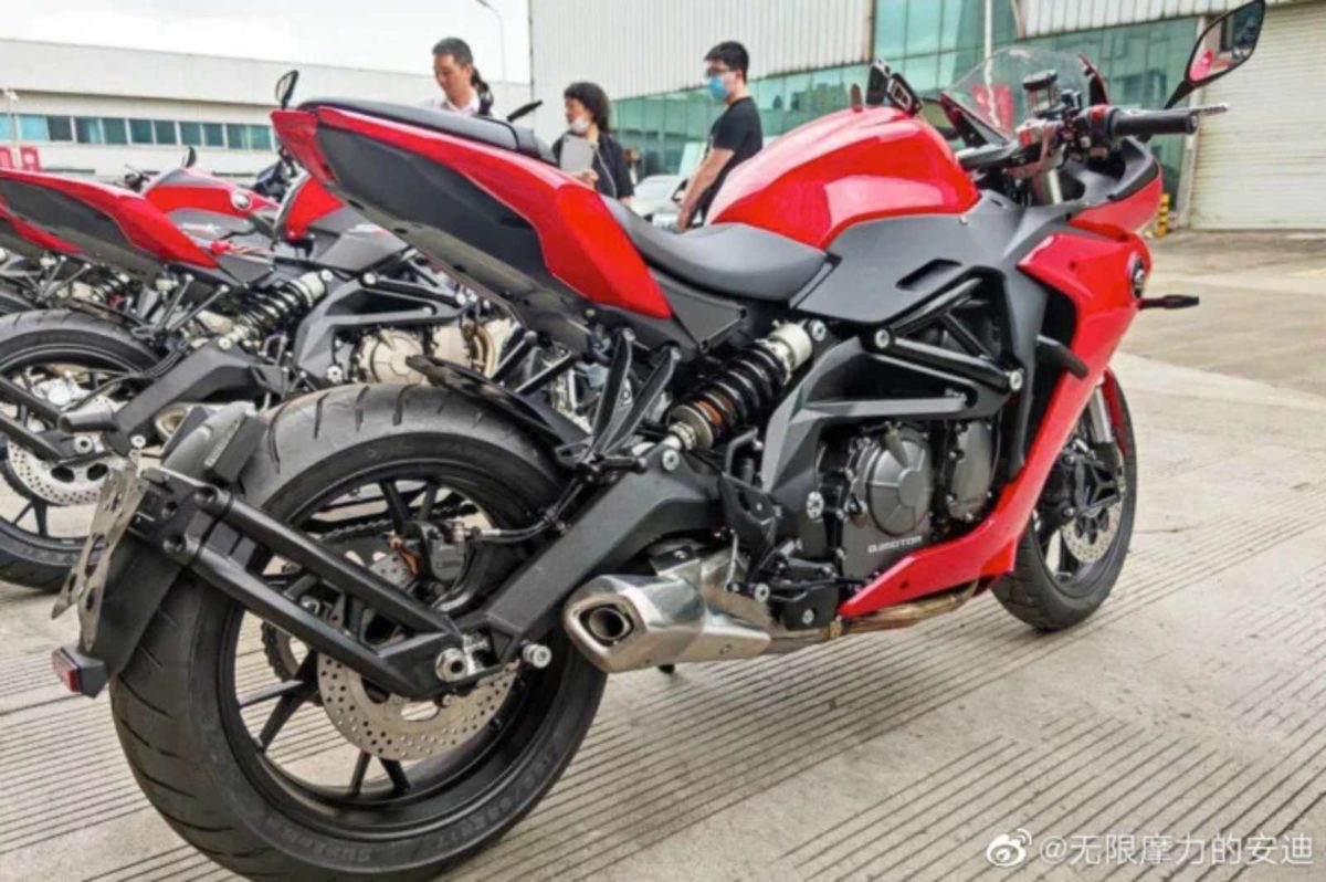 Benelli 600RR Spied Again 2