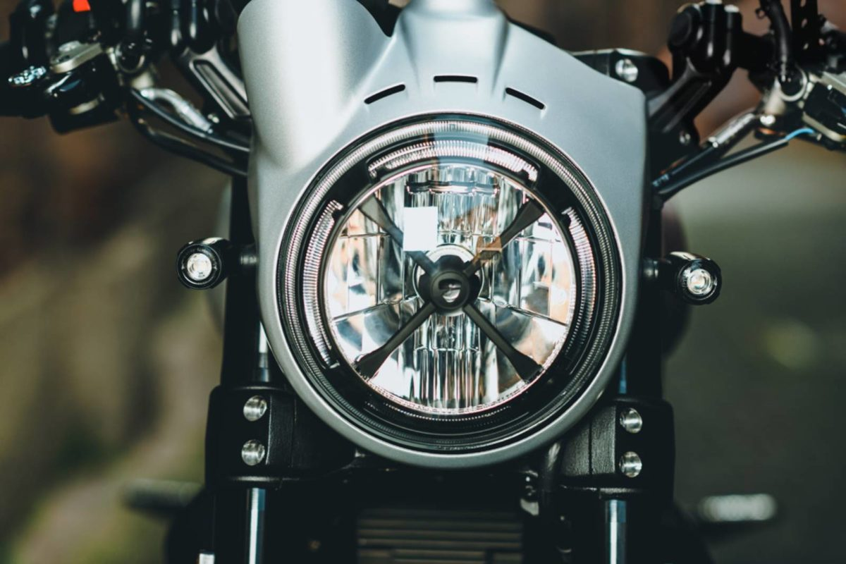 Ducati Scrambler Accessories – X shaped headlight protection (1)
