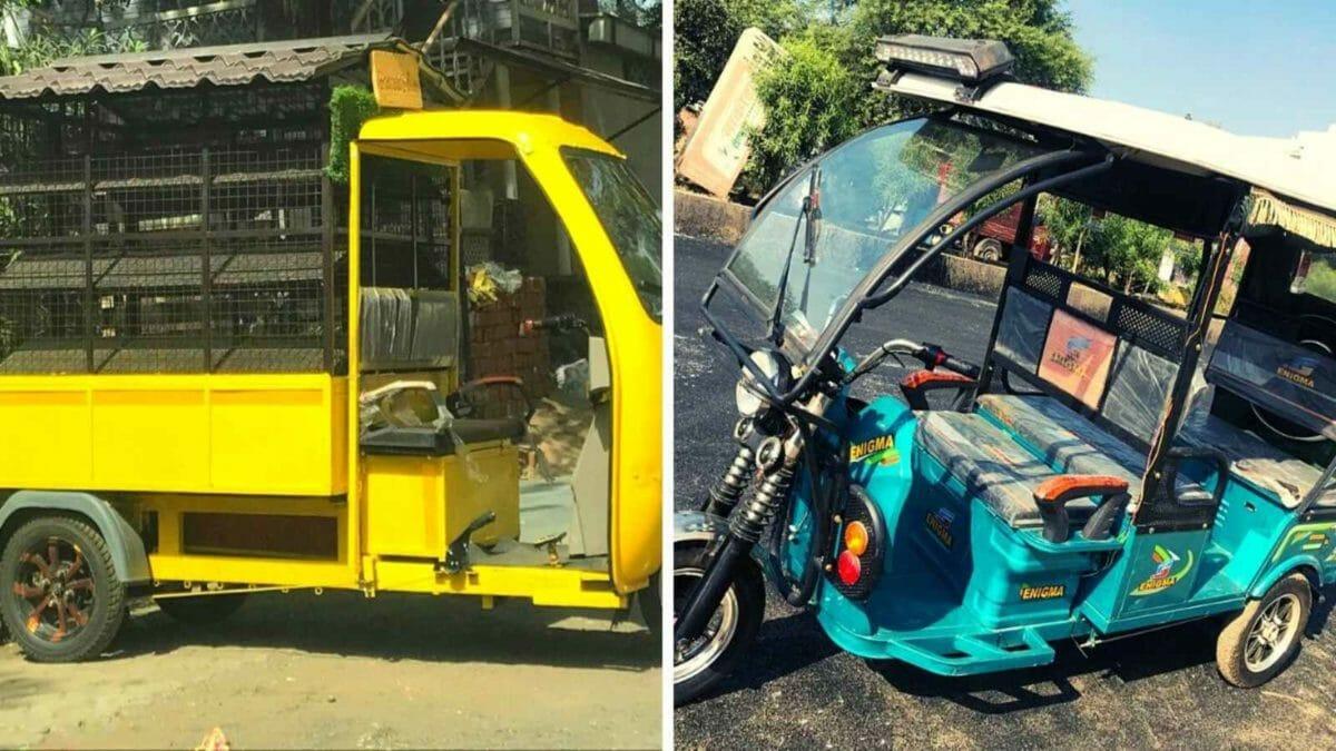 Enigma E rickshaws